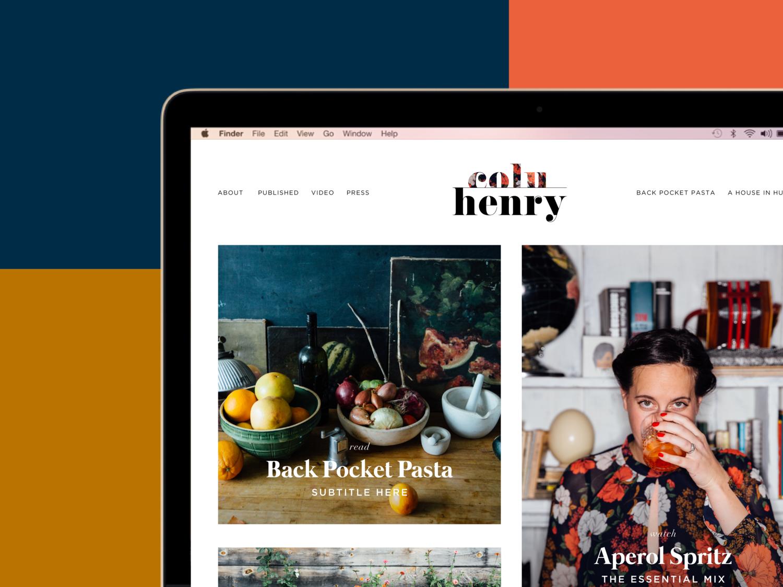 Colu Henry branding and website.png