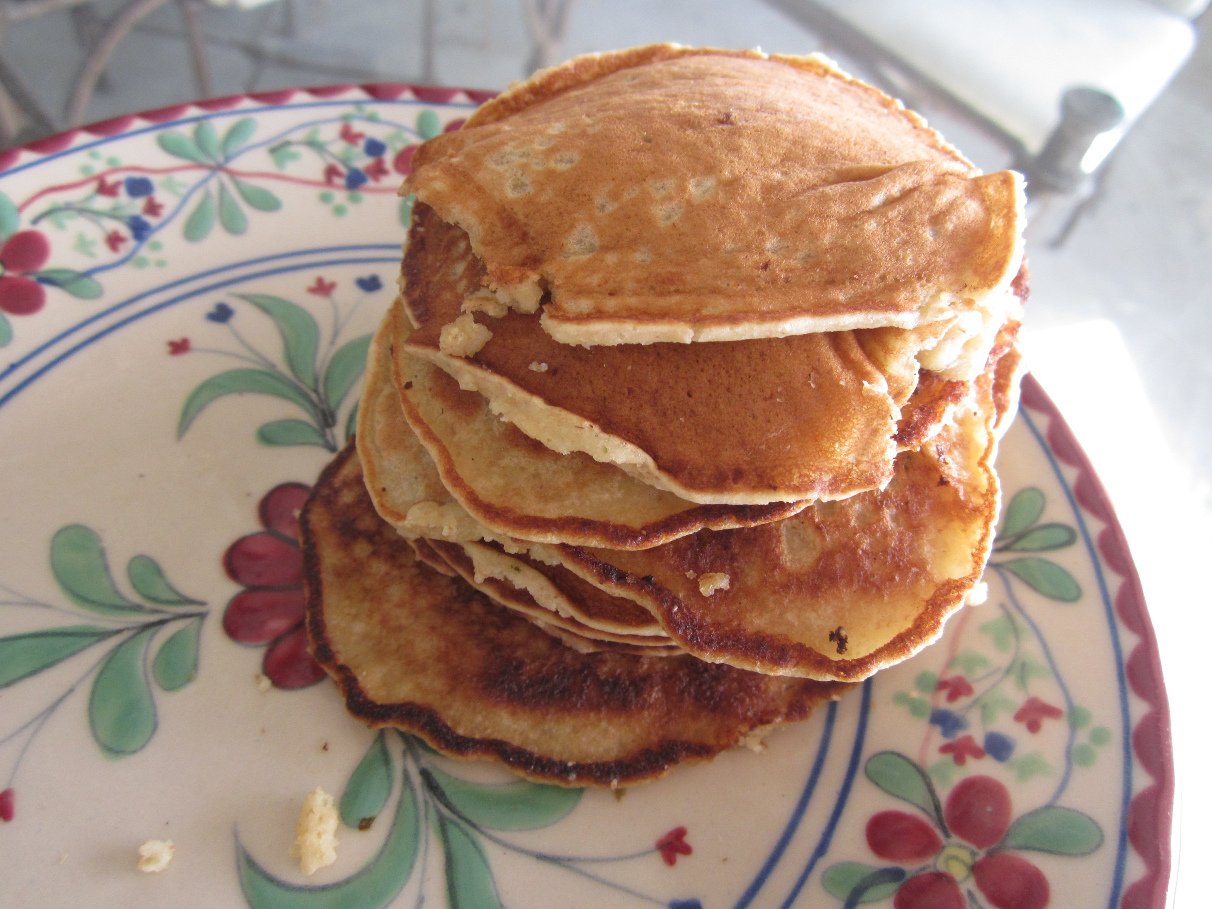 Pancakes in Ensenada, Mexico