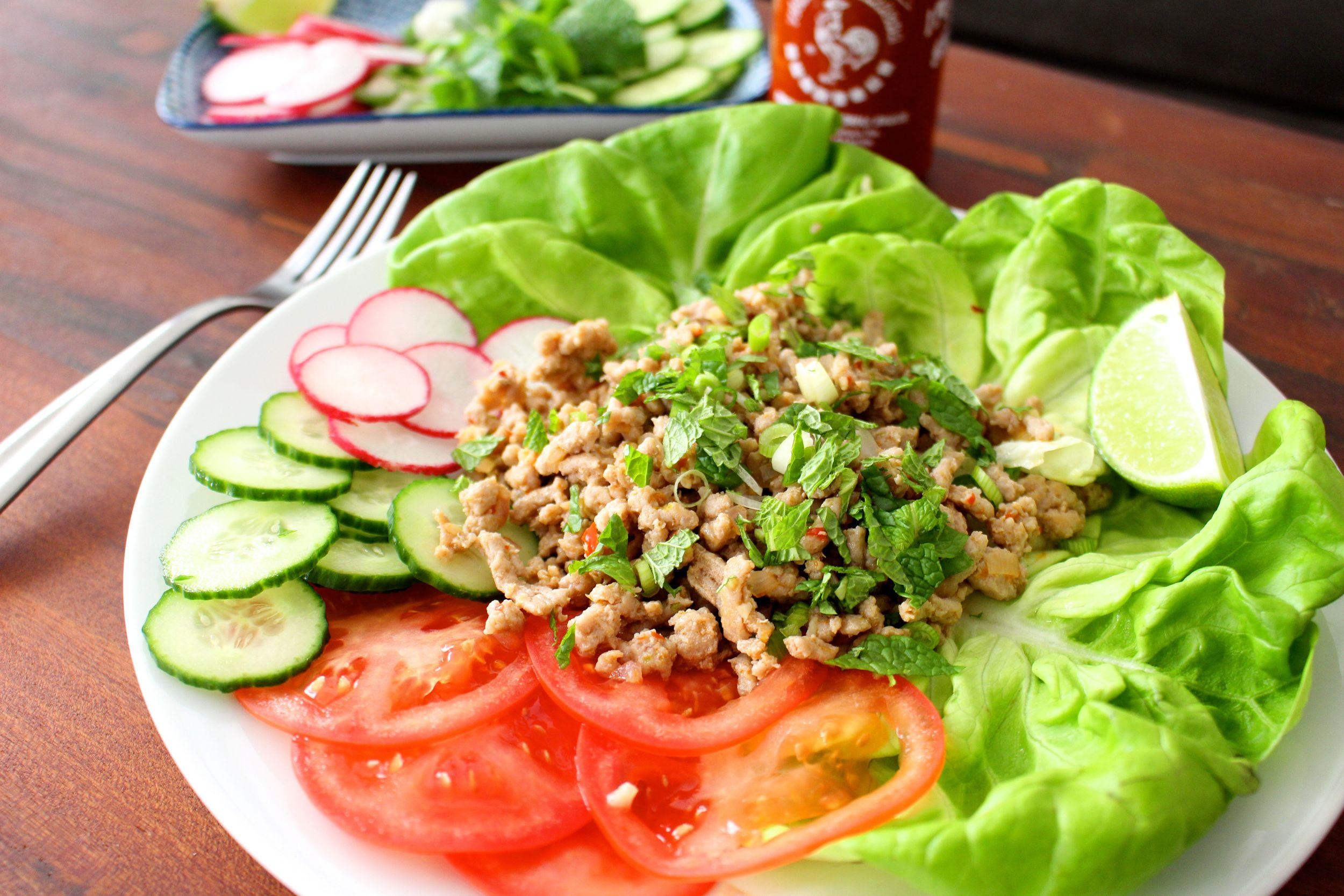 larb-asian-salad