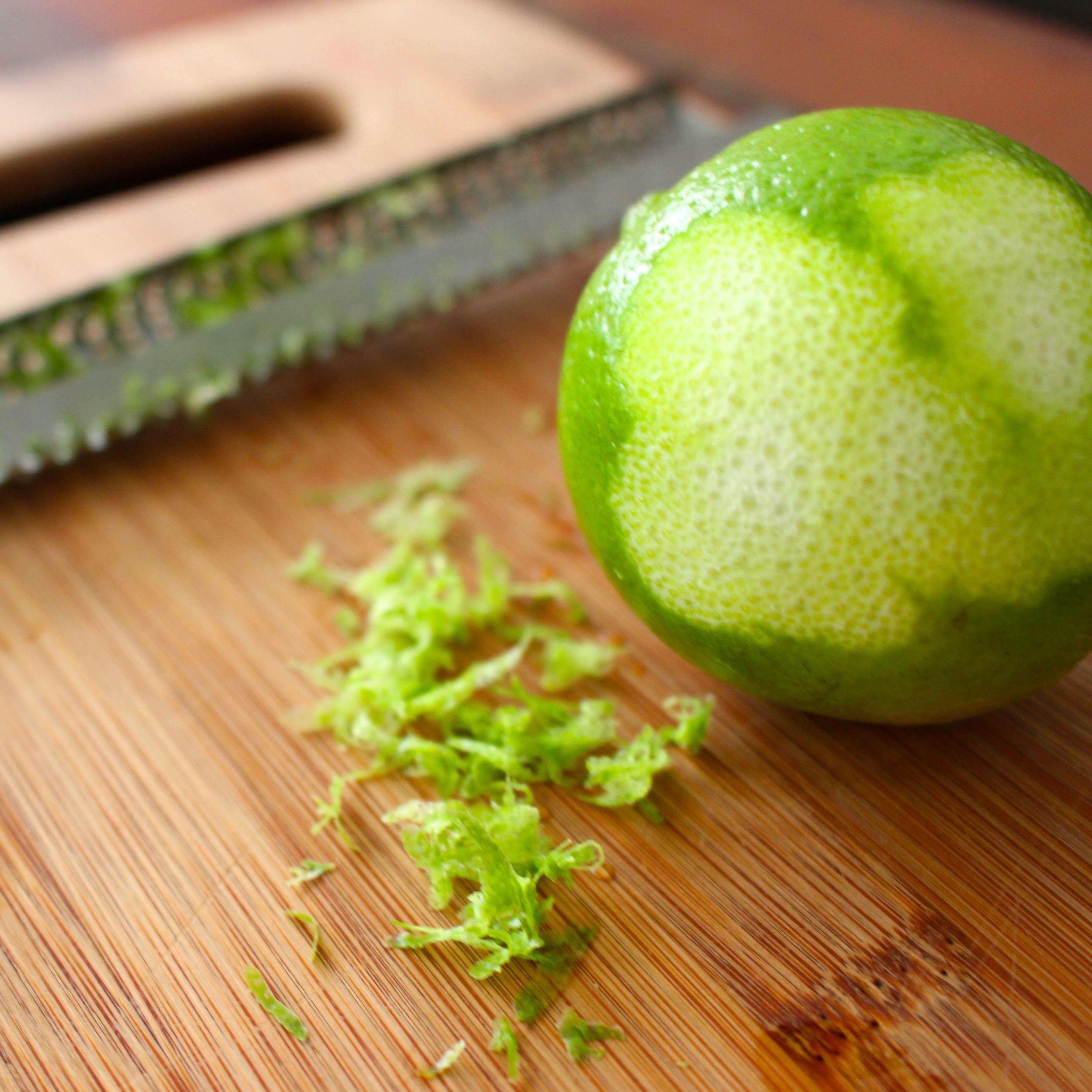 Lime zest subs in for lemongrass