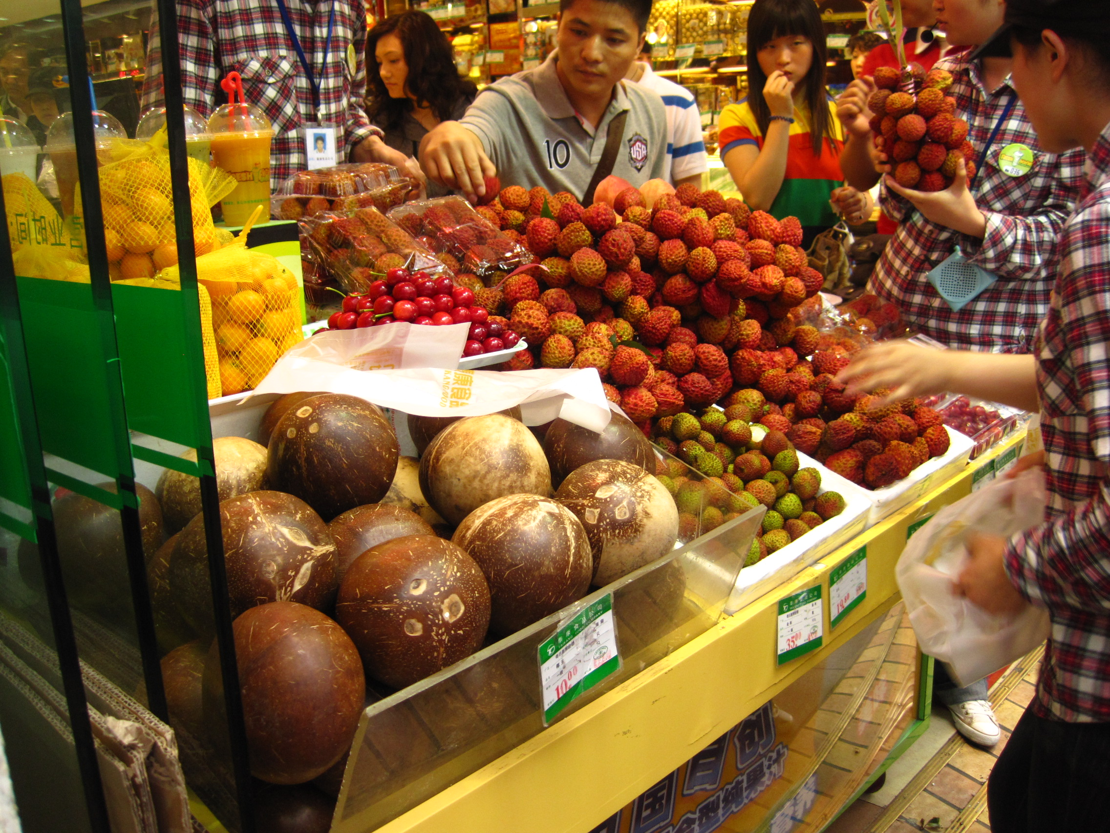 Produce in Shanghai, China
