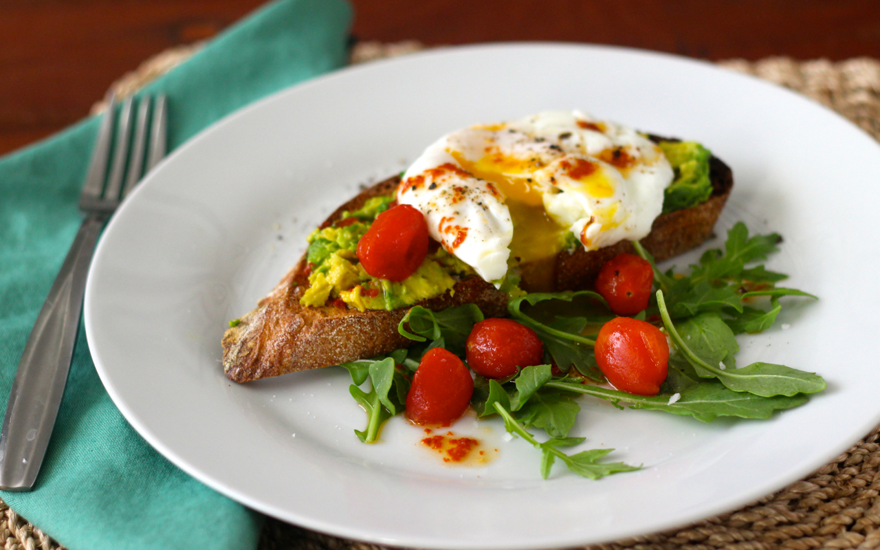 Harissa-Avocado-Toast
