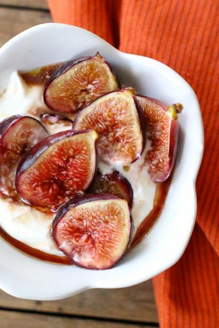 Chez Panisse Roasted Figs - Borrowed Salt