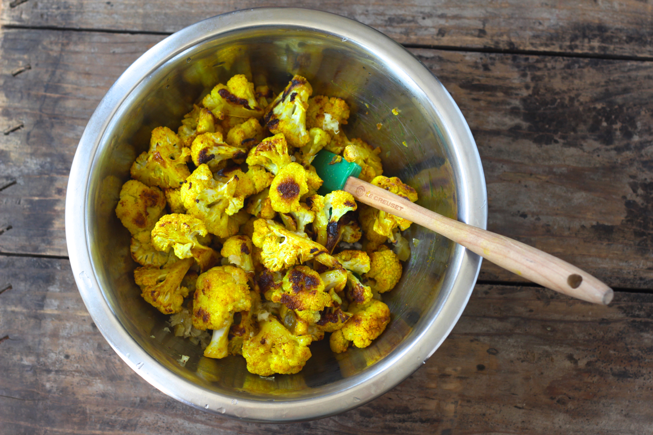 Cauliflower with Preserved Lemon and Brown Butter