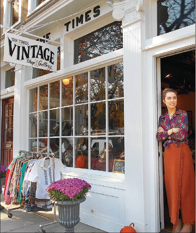 """""""What's old is new at Greenport's The Times Vintage"""" by Cyndi Murray for Northforker."""