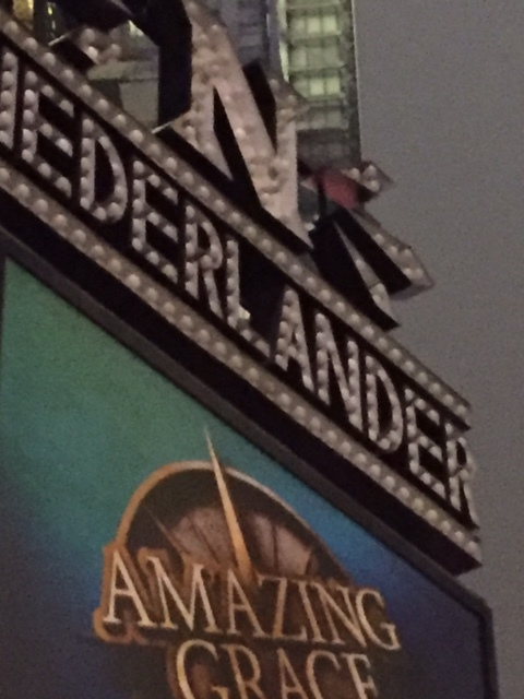 """Nederlander Theater """"The Broadway Show House"""" highly recommended, Beautiful, need to see """"Hamilton"""""""