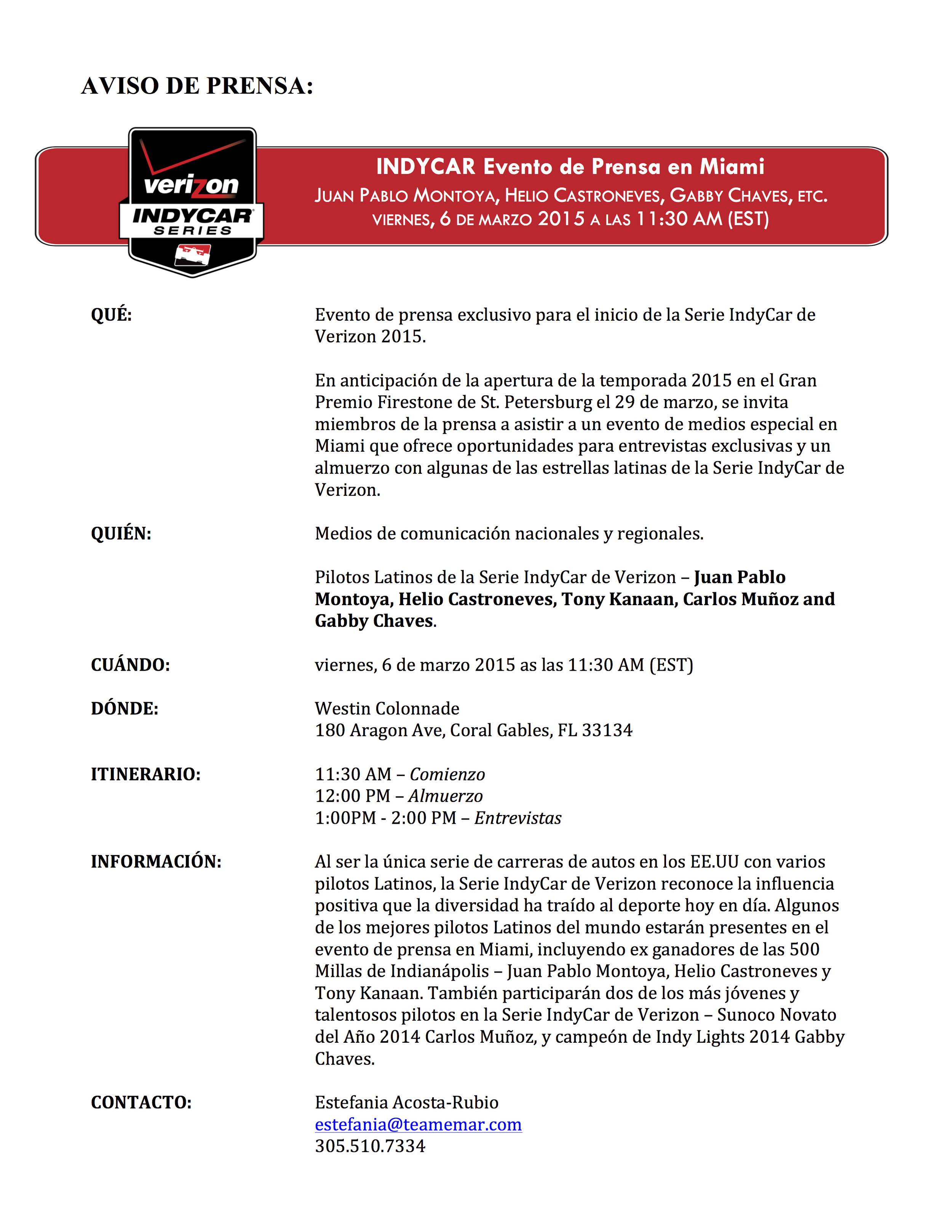 Media Alert - IndyCar Miami Media Event (Spanish).jpg