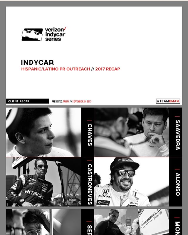 #INDYCAR 2017 Season Latin Outreach Recap. ❤️ @indycar #TEAMEMAR