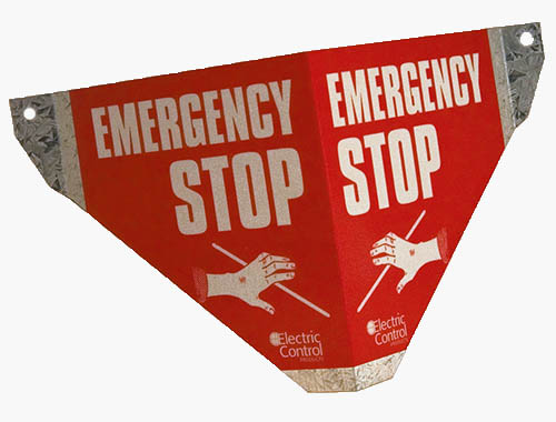 Safe-T-Sign: Emergency Stop Sign.