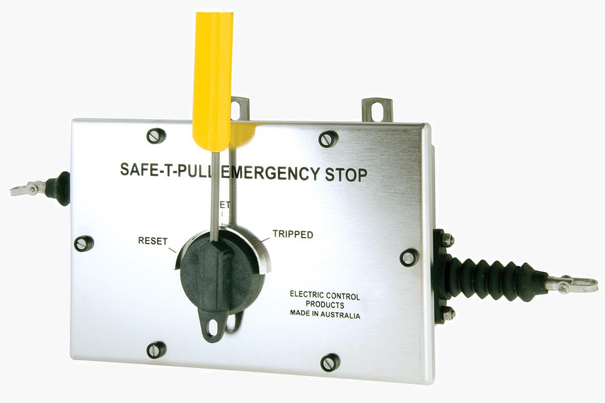 Safe-T-Pull (Electro Polished Stainless Steel): Lanyard/Saklar Tarik.