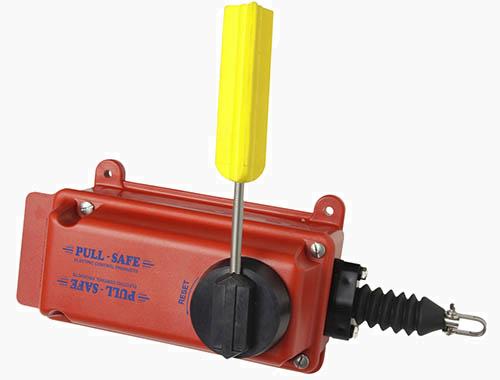 Pull-Safe: Lanyard/Saklar Tarik.