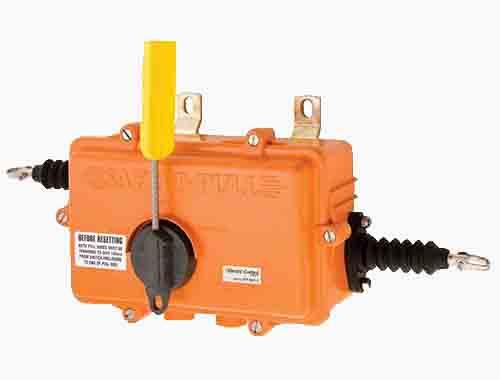 Safe-T-Pull (PET/PC): Lanyard/Saklar Tarik.