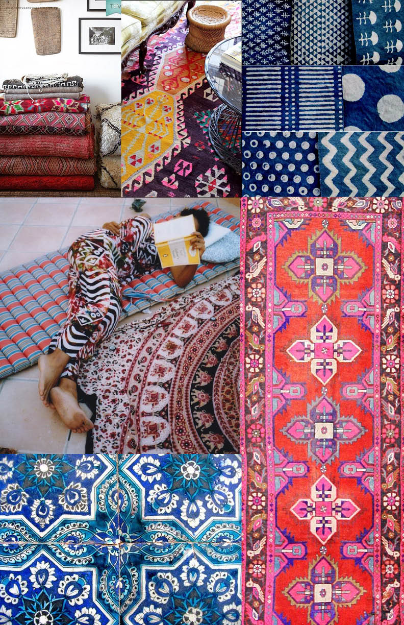 Love these beautiful textiles and designs inspired by traditional craft from across Africa, the Middle East, Asia and the Americas