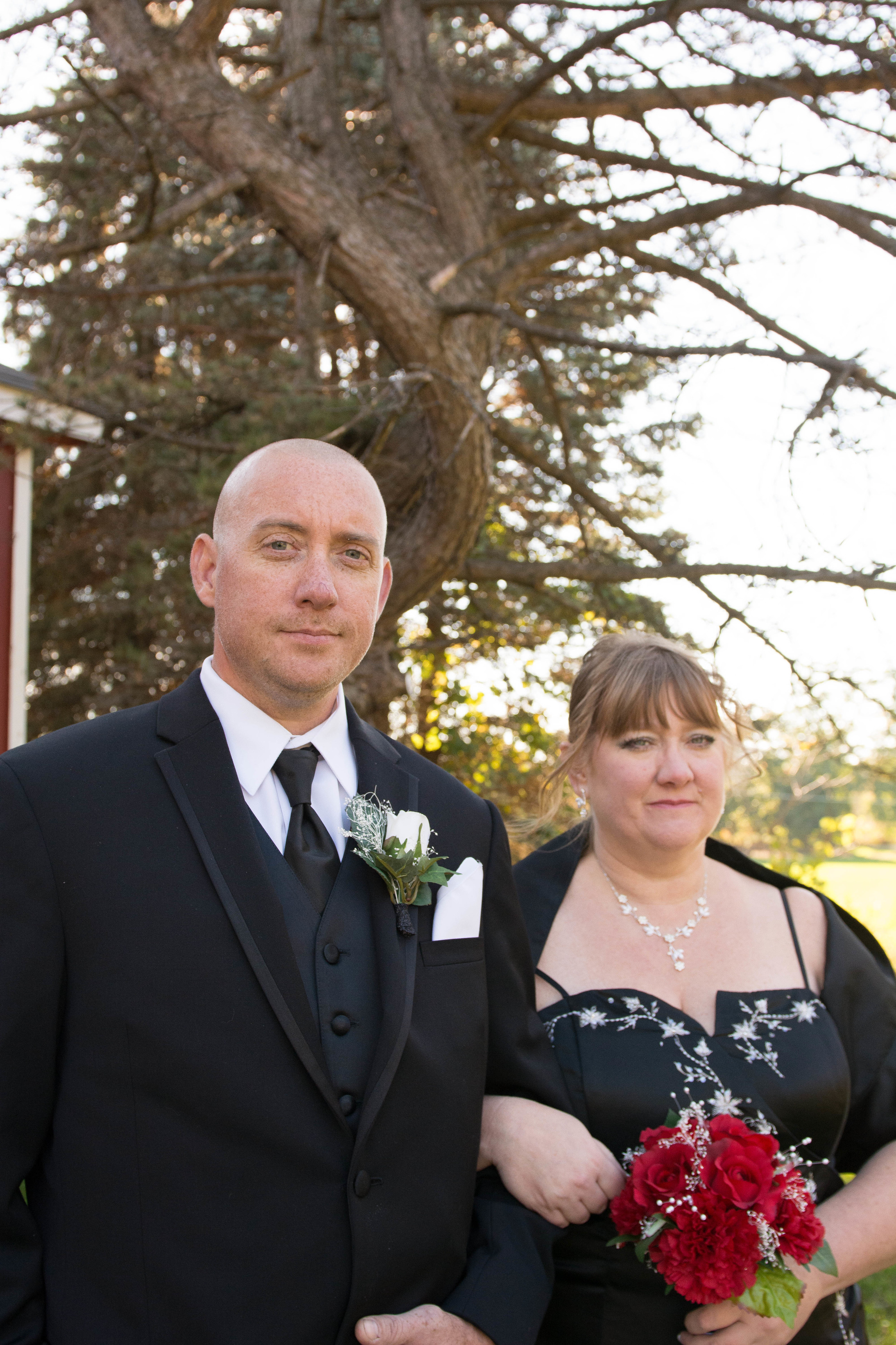mr and mrs baker crystal gardens miss lyss photography