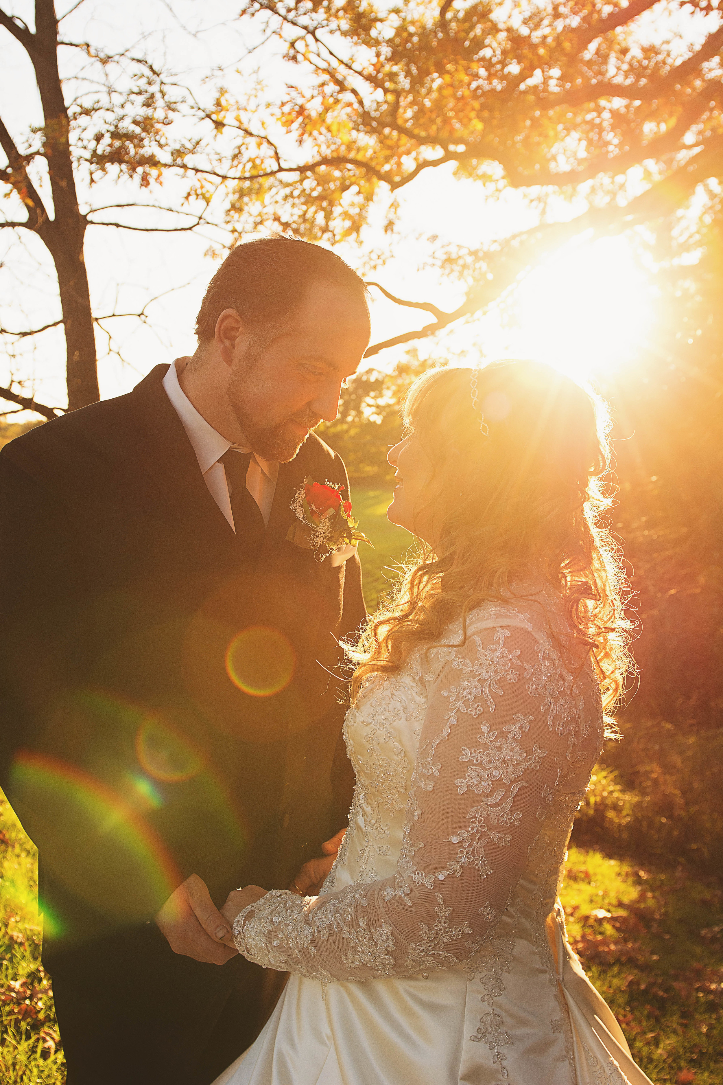 Mr. and Mrs. Baker crystal gardens miss lyss photography