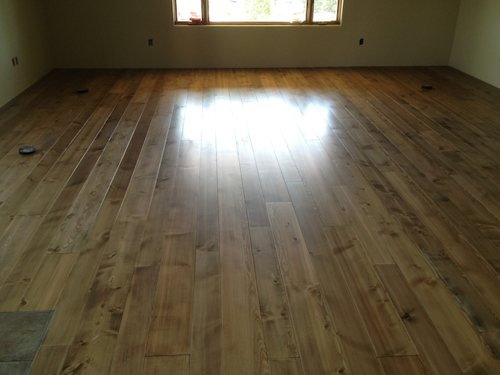 New Pine with Custom Stain