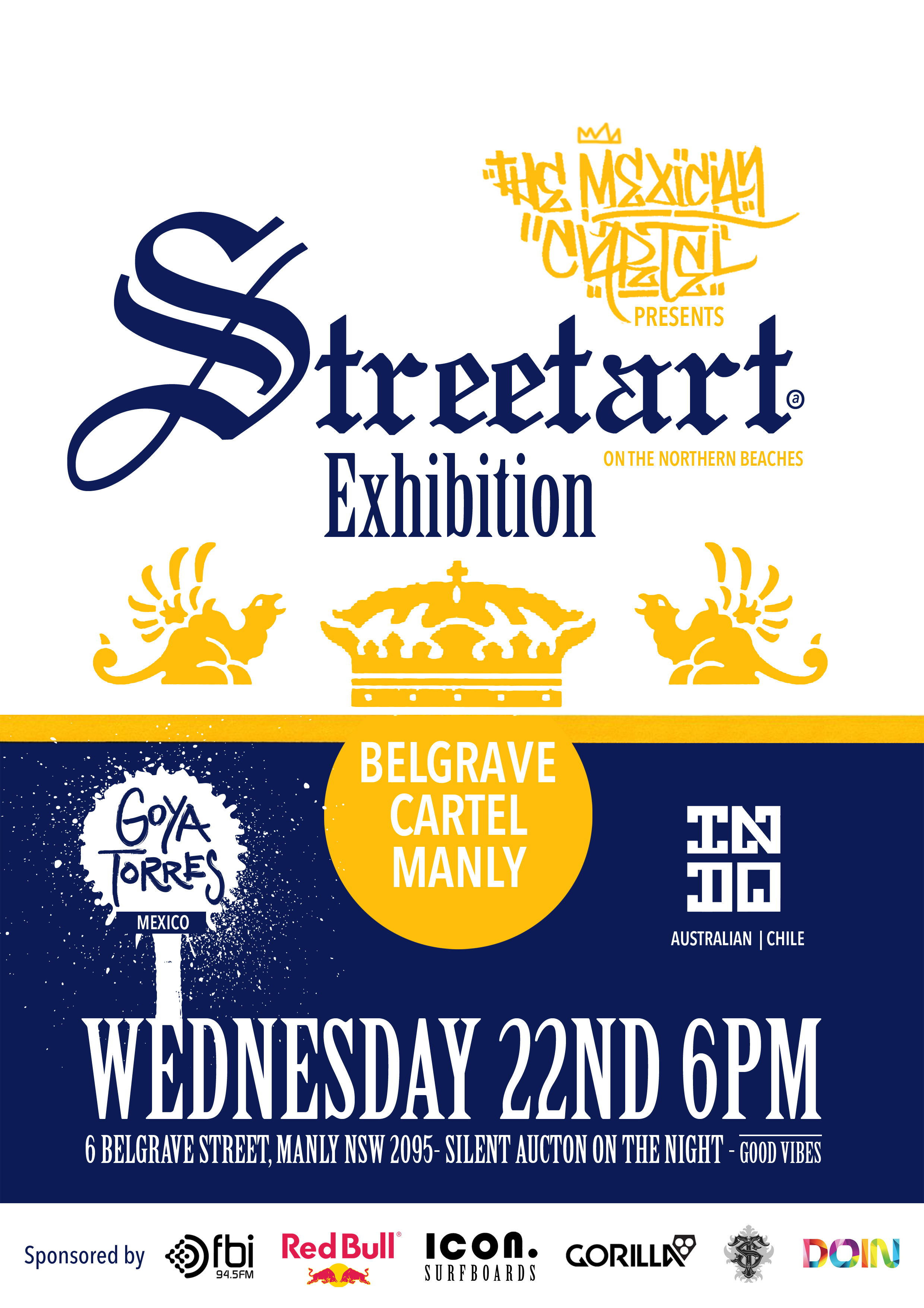 Throwing a MASSIVE ART SHOW in Manly! You gotta come!