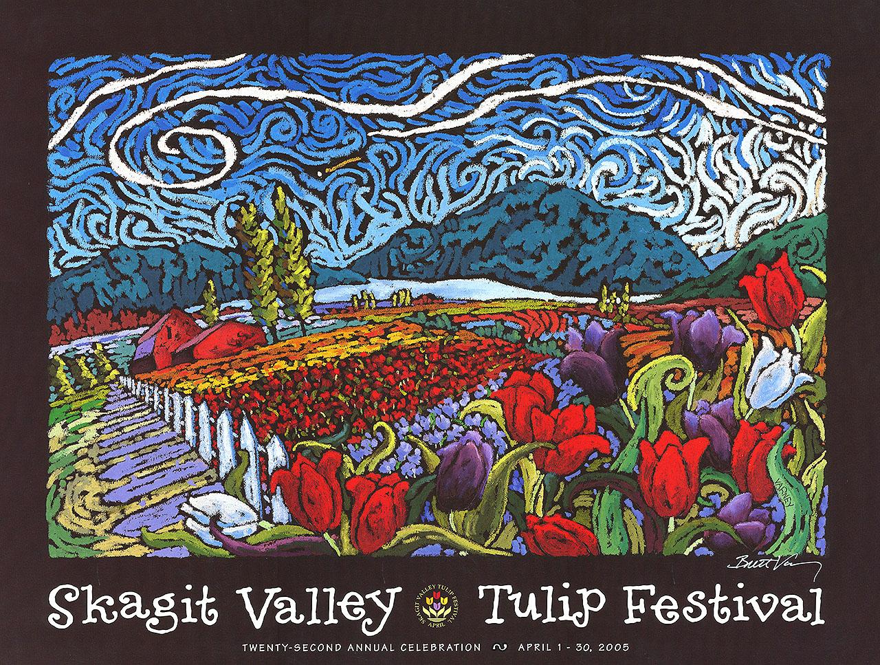 Tulip Festival Poster 2005