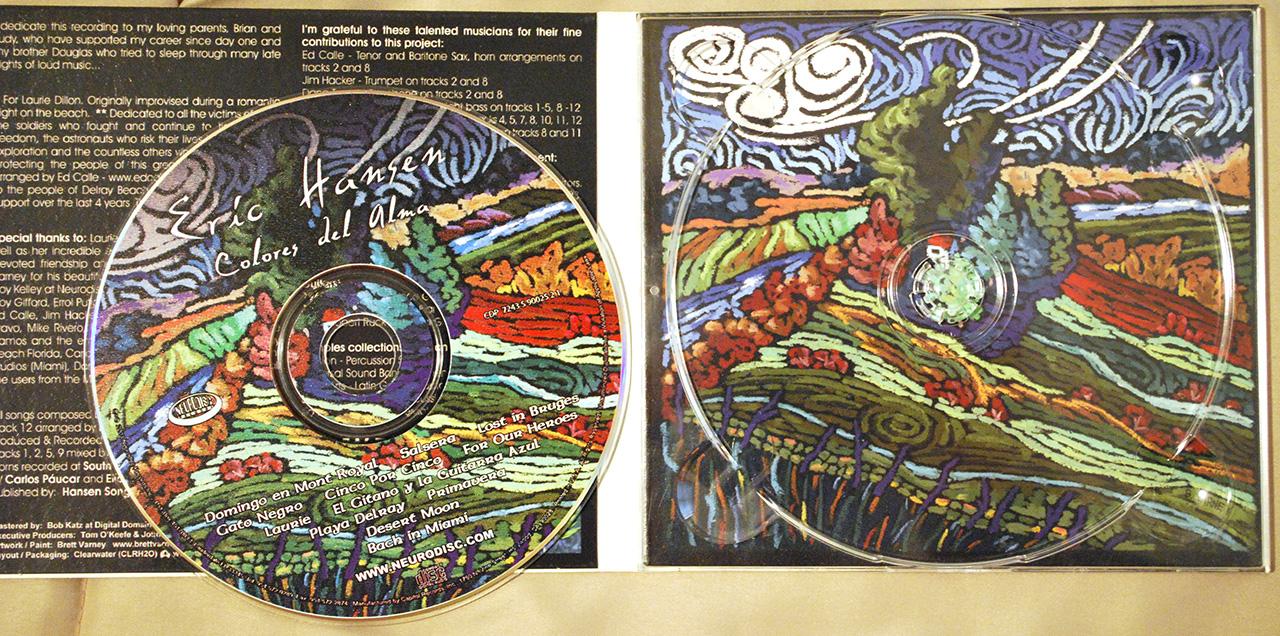 CD inside : 2003 Colours del Alma