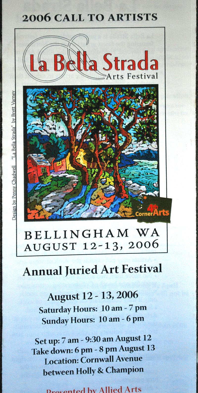 La Bella Strada Poster 2006