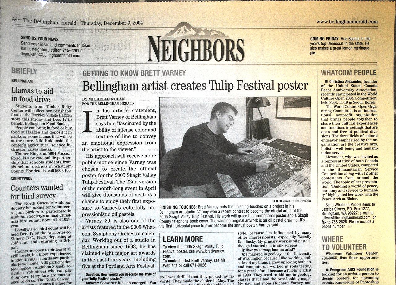 Bellingham Herald Newspaper, 2005