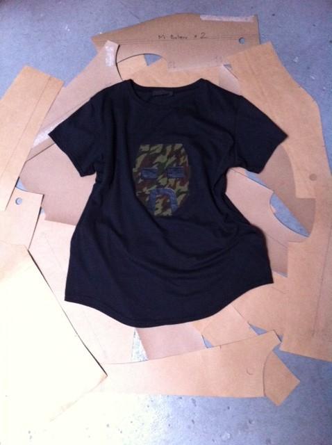 Camo Face T-Shirt