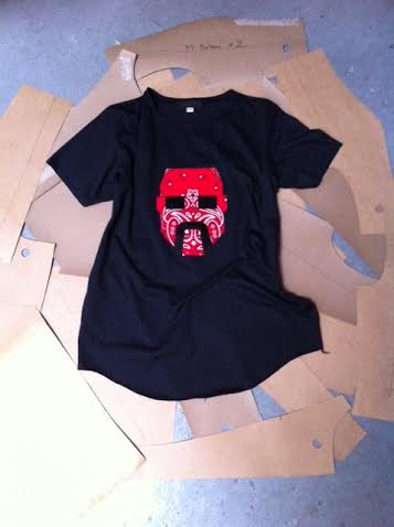 Handkerchief Face T-Shirt