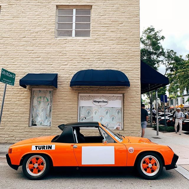 been gravitating to the color orange lately. If you had a #Porsche914, what color would it be? #VehicleVixen #DasRennTreffen #DRT