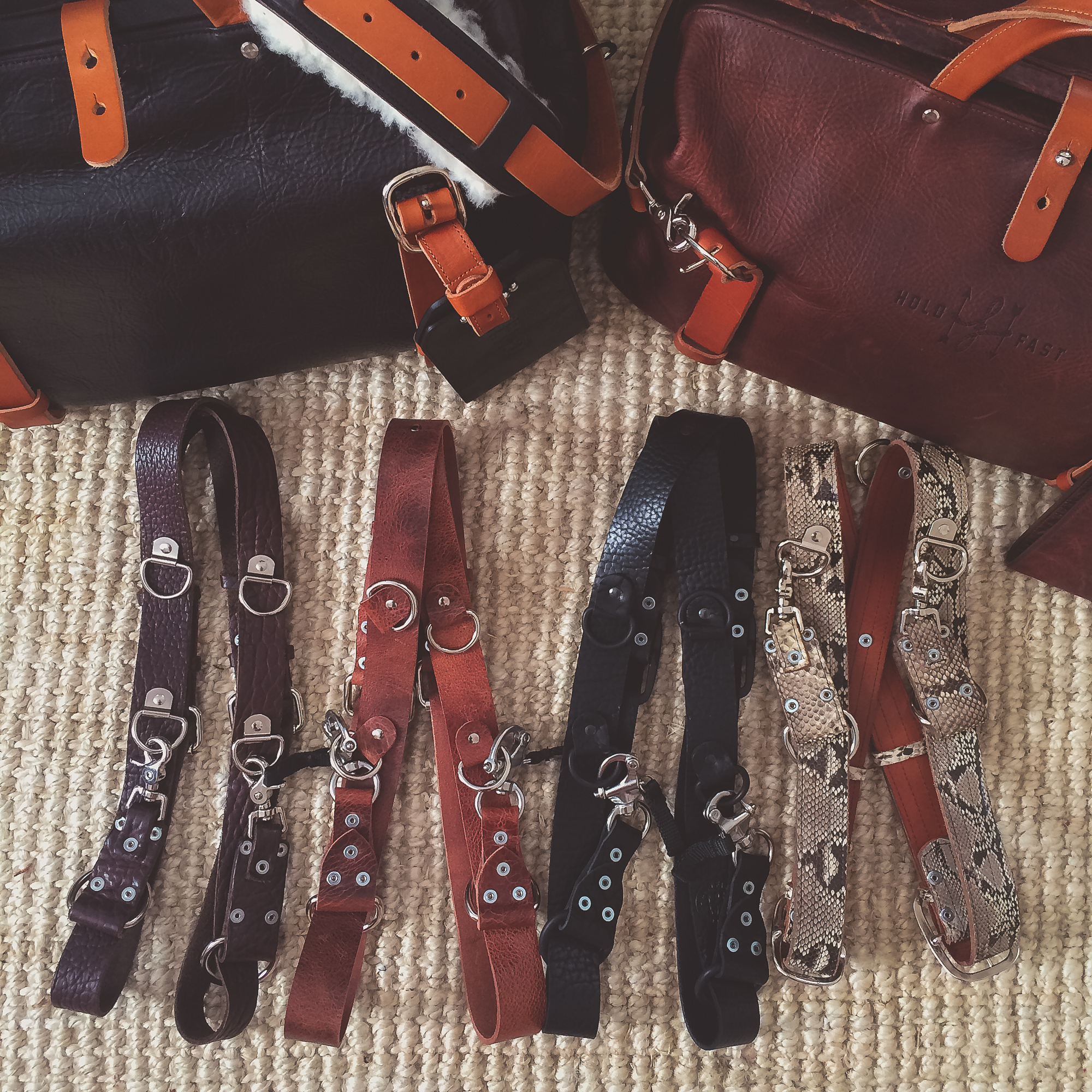 Our go to bags and camera straps:  Hold Fast Gear