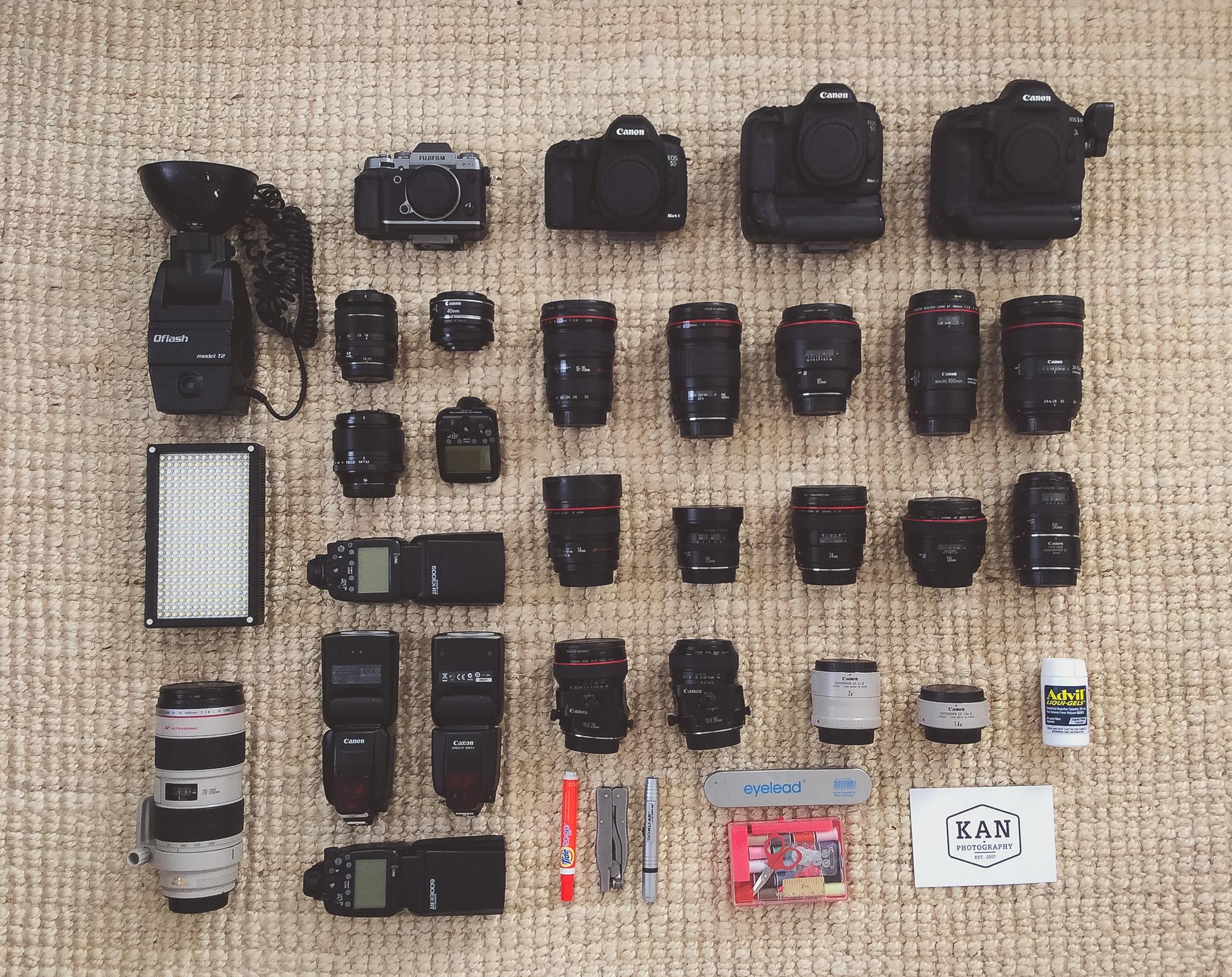 Our wedding kit(breakdown below)