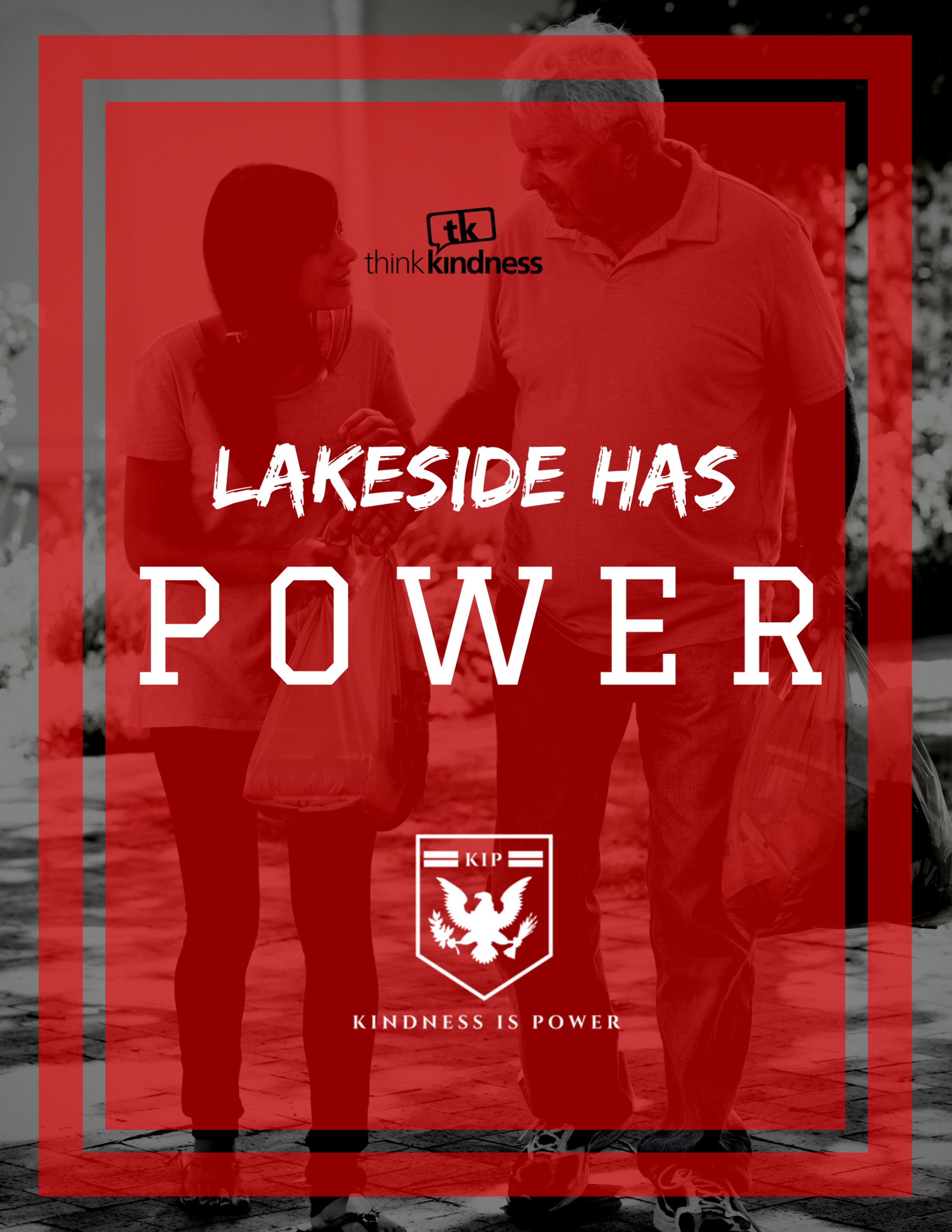 "LAKESIDE HAS POWER - 8.5"" x 11"""