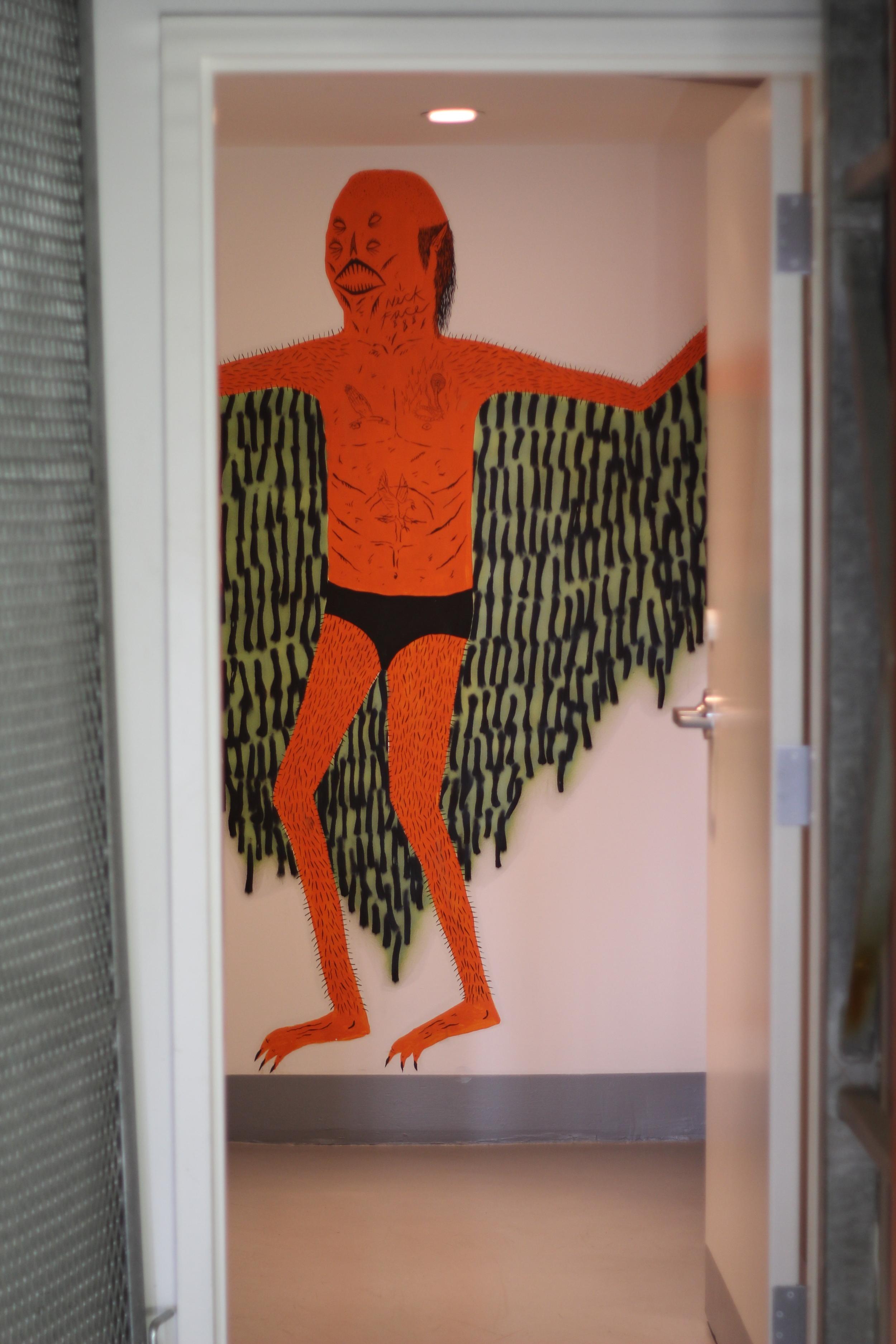 Supreme store bathroom - Hollywood, CA
