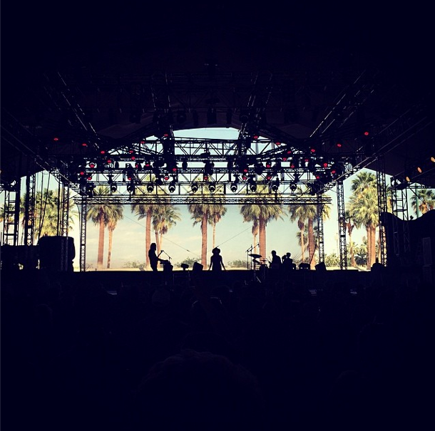 BANKS at the Gobi Tent - Indio, CA