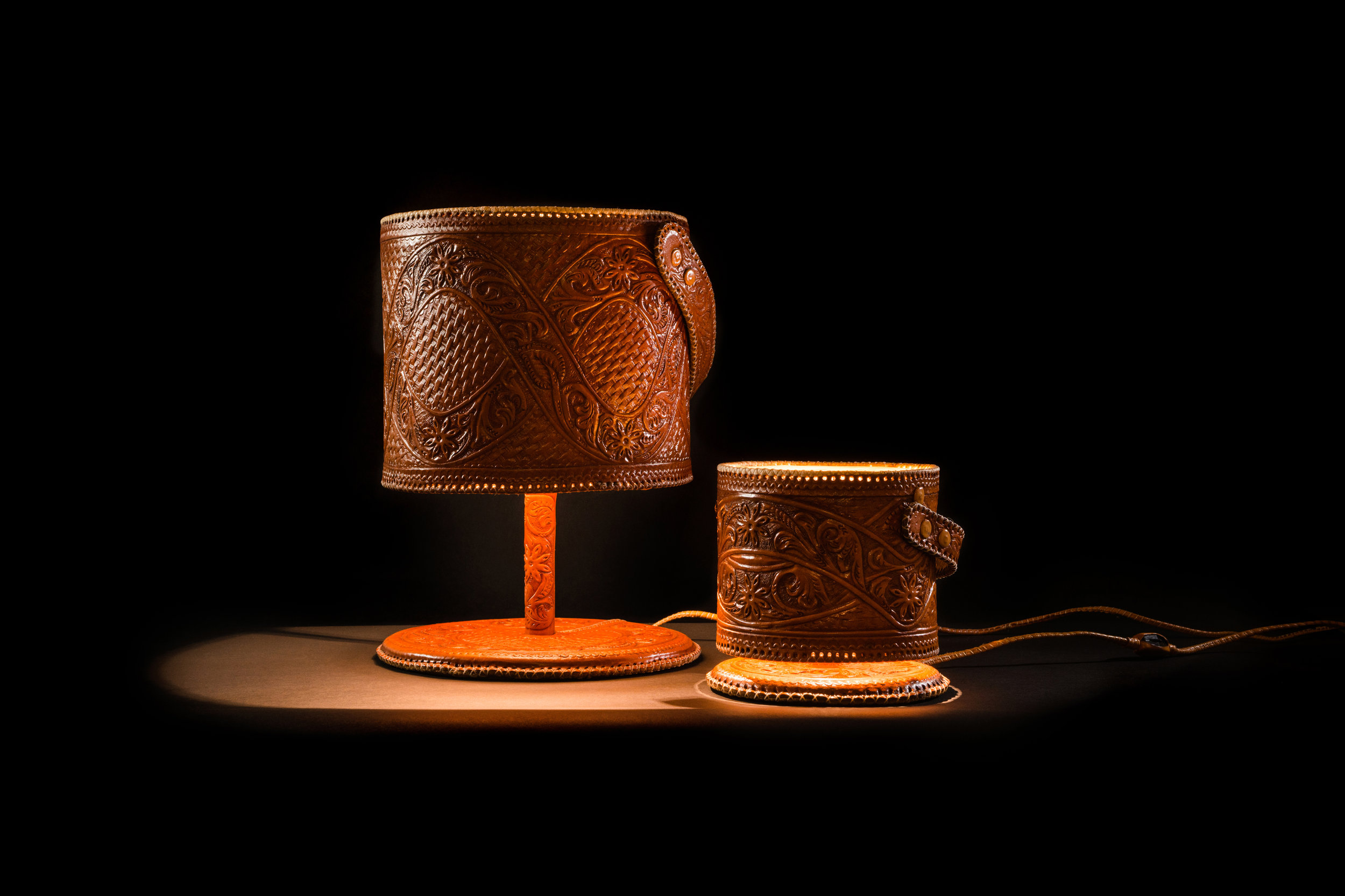 jorge-diego-etienne-chiseled-leather-lamps-11