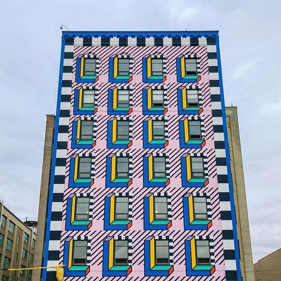 Camille Walala Memphis—Up Industry City for NYCxDESIGN