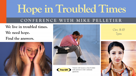 Hope in Troubled Times '12
