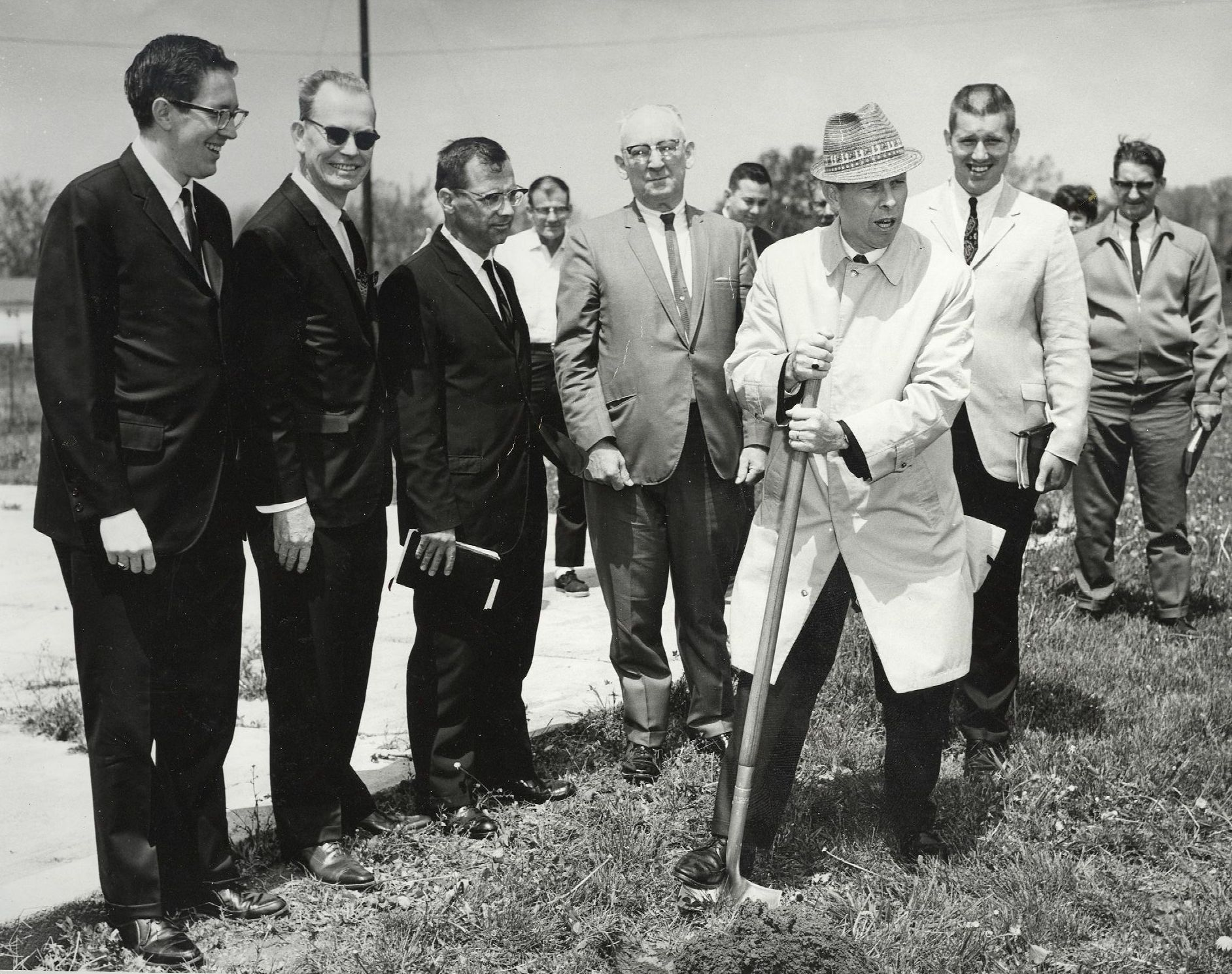 Groundbreaking for Current Building