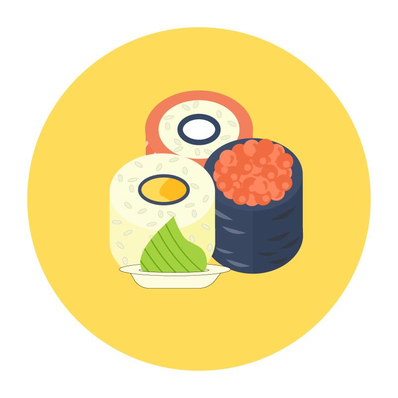 Wasabi plate