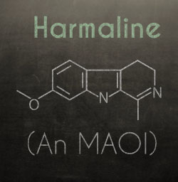 Harmaline chemical structure passionflower