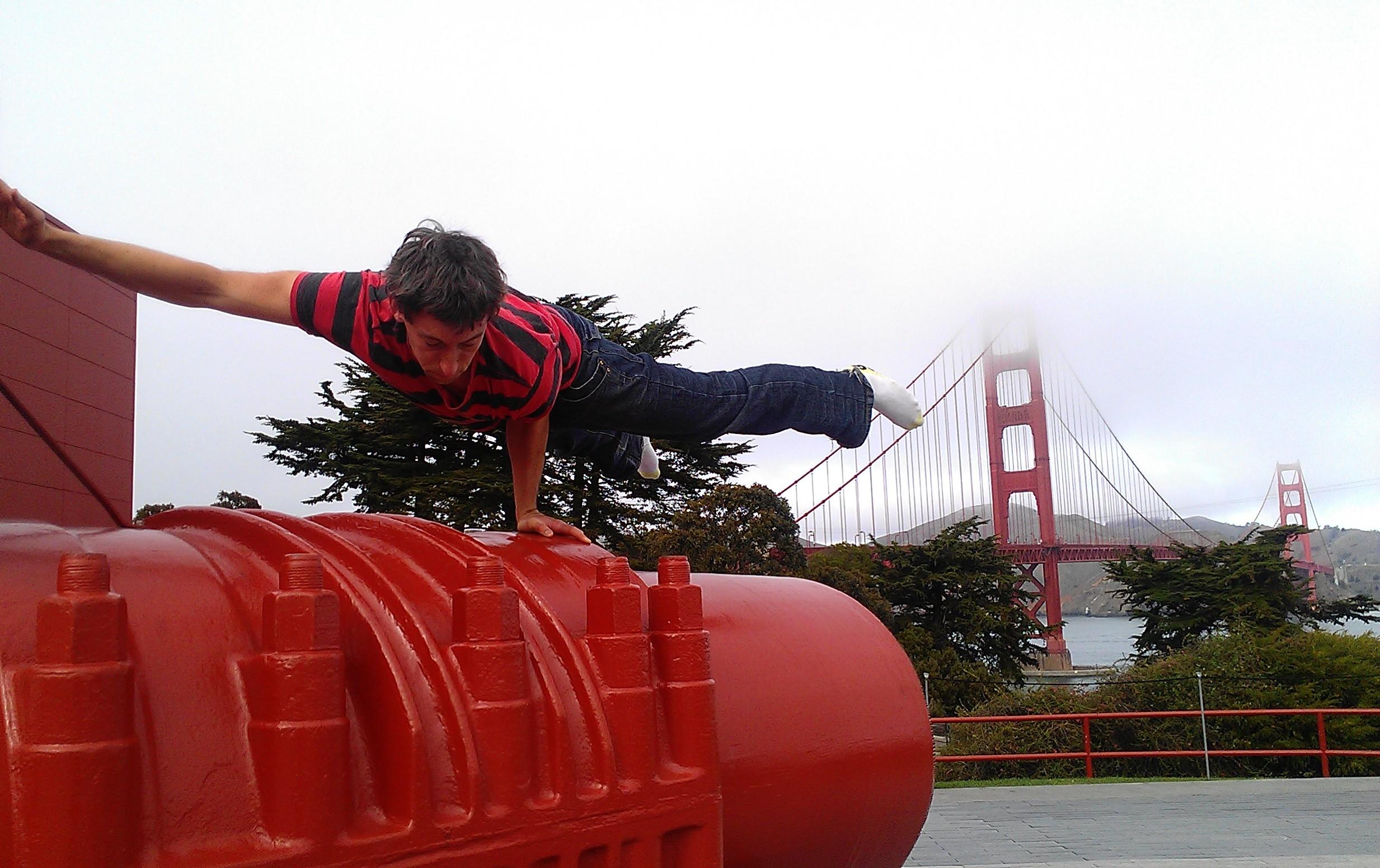 Load testing the Golden Gate Bridge
