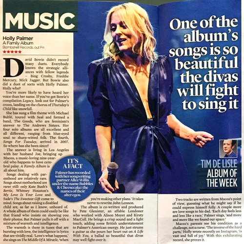 5 Stars from The Mail On Sunday