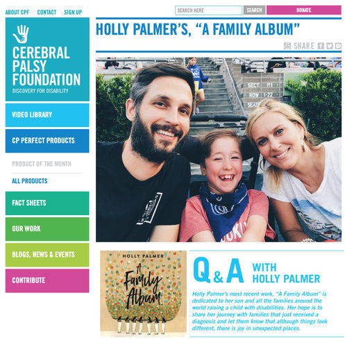 Q&A with The Cerebral Palsy Foundation