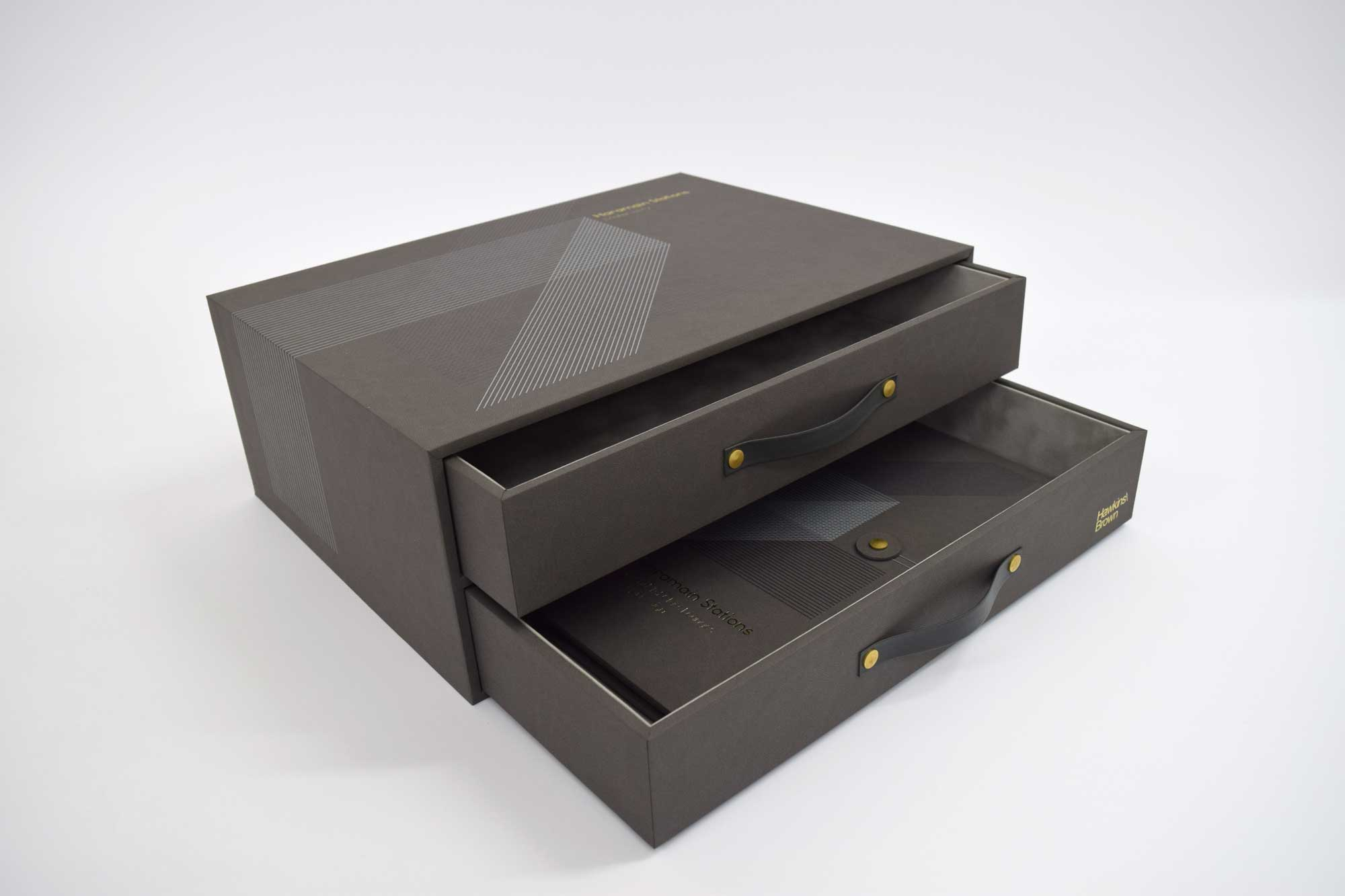 Presentation Box with Drawers