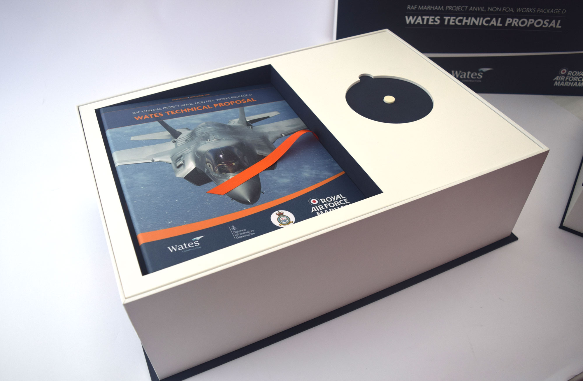 Tender Submission Box with CD Compartment