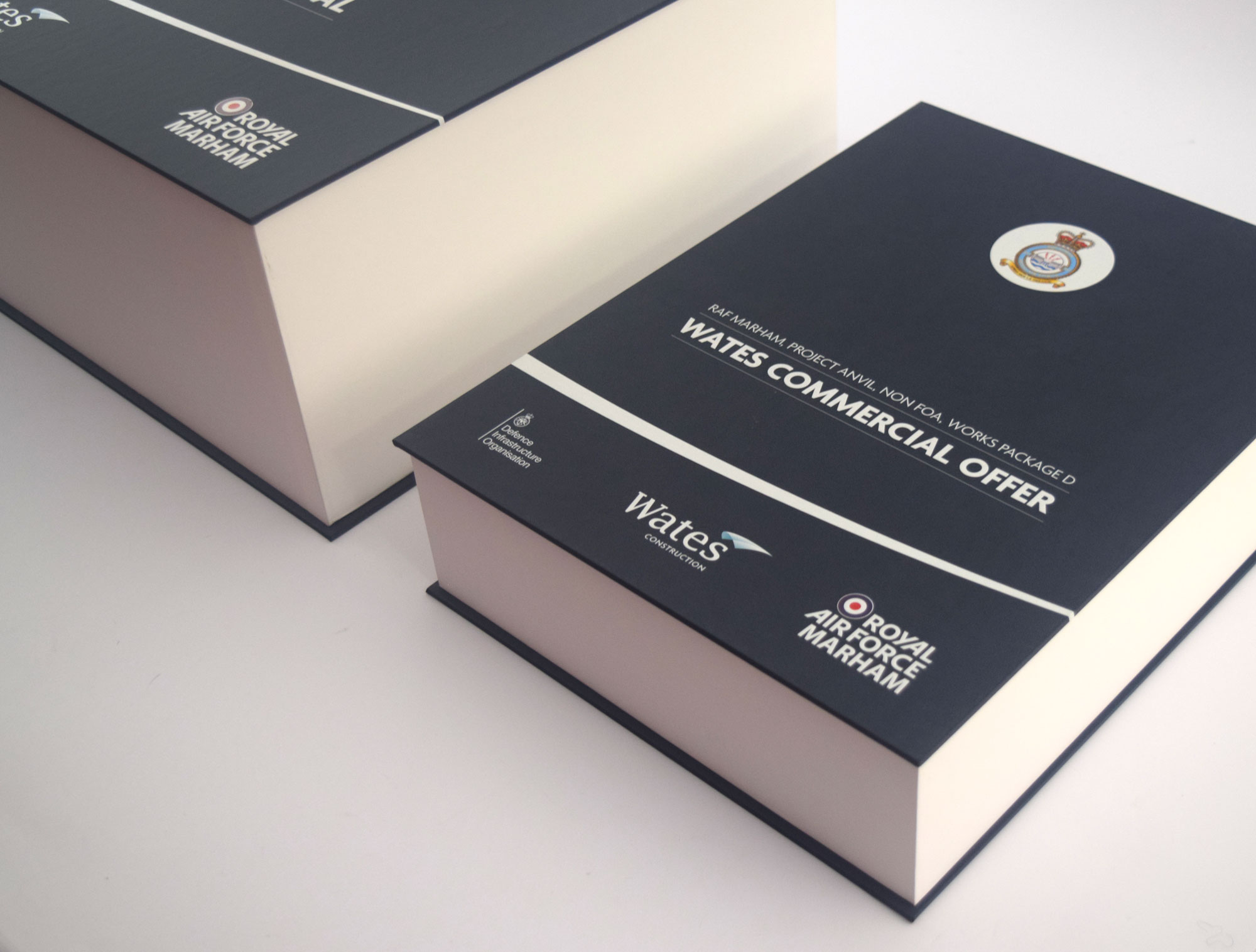 Custom made Tender Submission Boxes