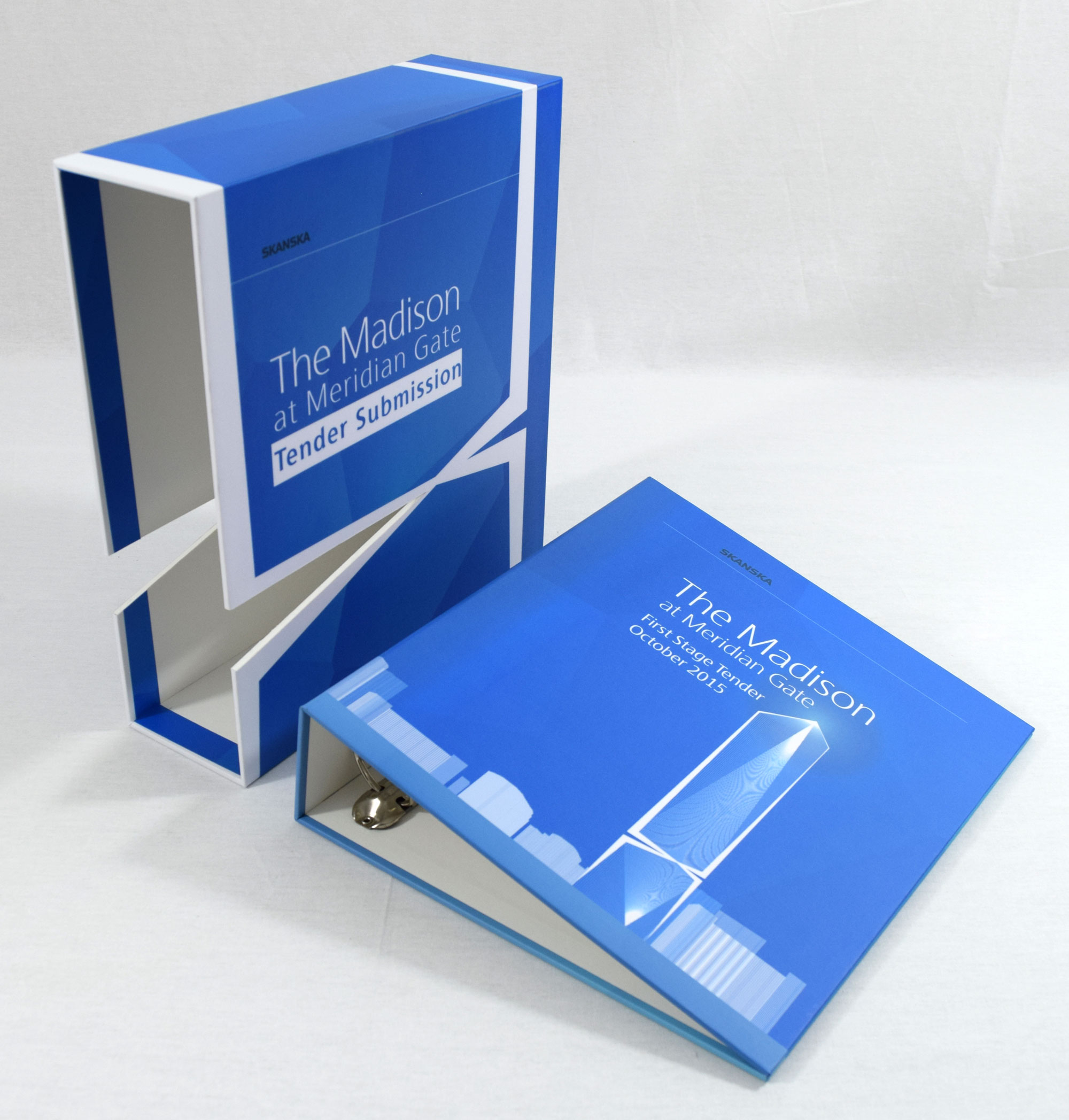 Tender Submission Box and Ring Binder