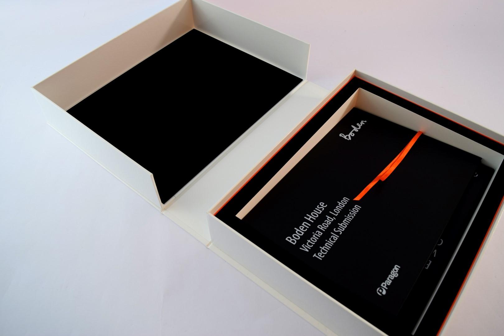 Bespoke Clamshell Presentation Box