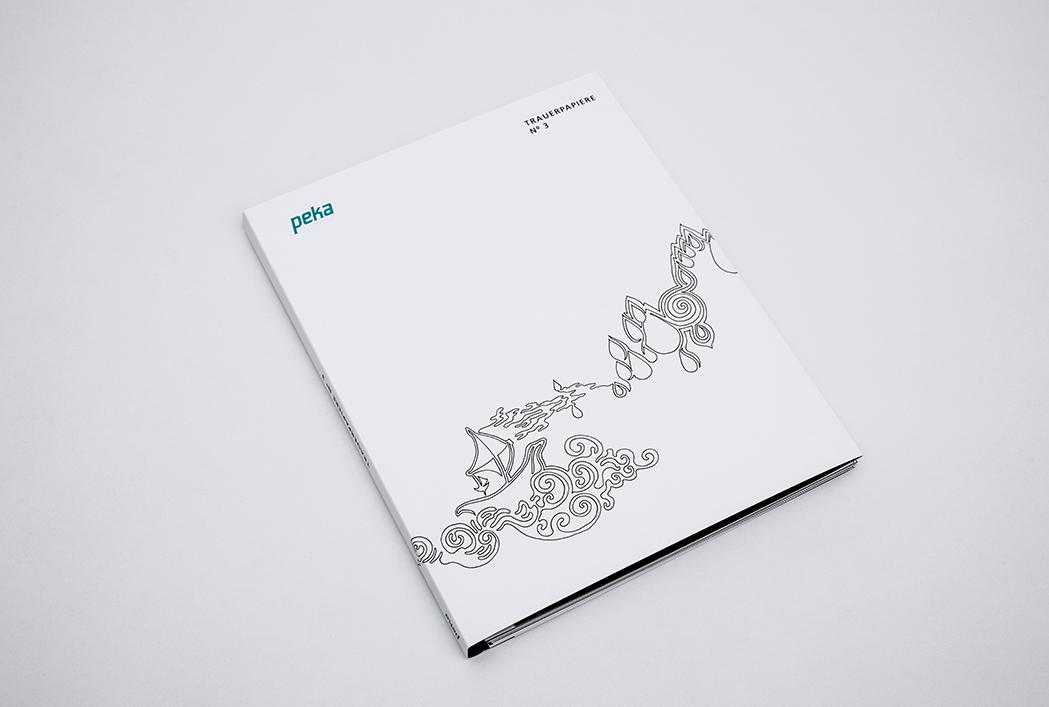 Katalog Trauerpapiere Nr. 3  Katalog Fotografien:  by Peter Nitsch