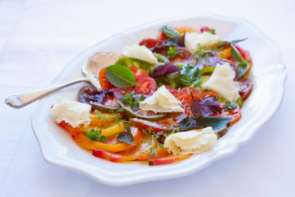 Heirloom tomato platter