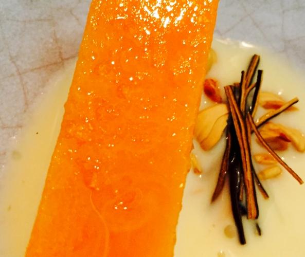 Pumpkin kelp and beech nuts